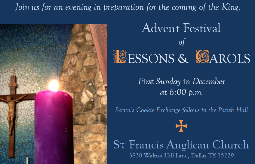 Ad – Lessons and Carols